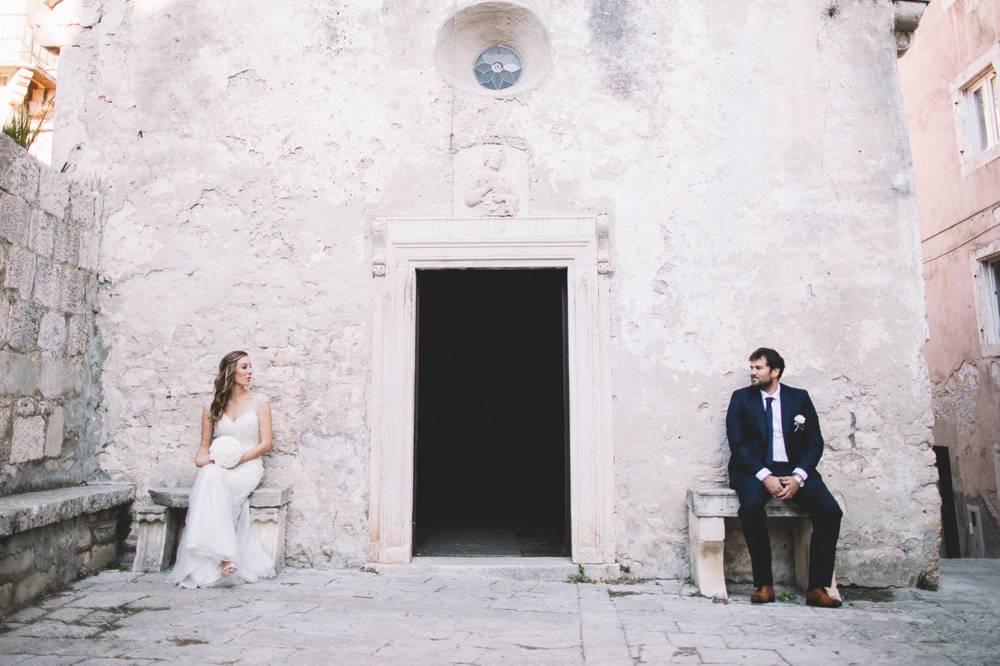 Croatia destination wedding - Korčula island wedding