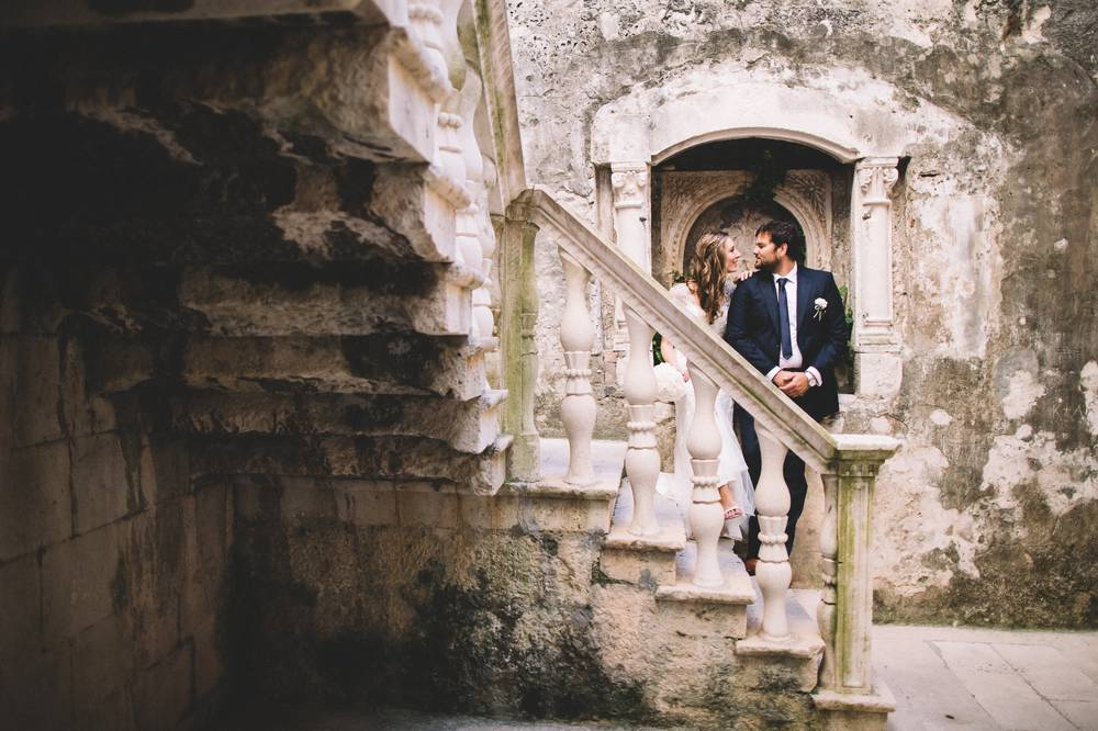 Croatia destination wedding - Korčula island wedding
