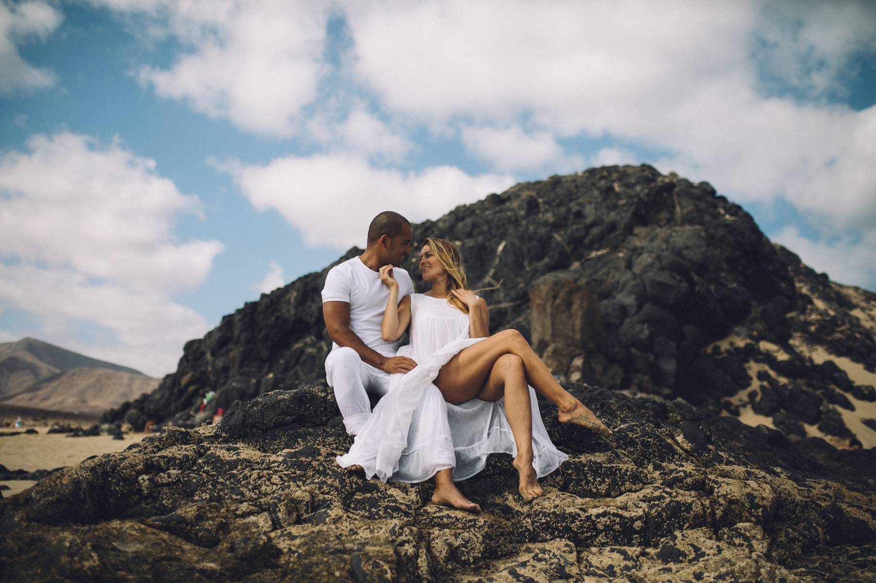 Lanzarote love photo session