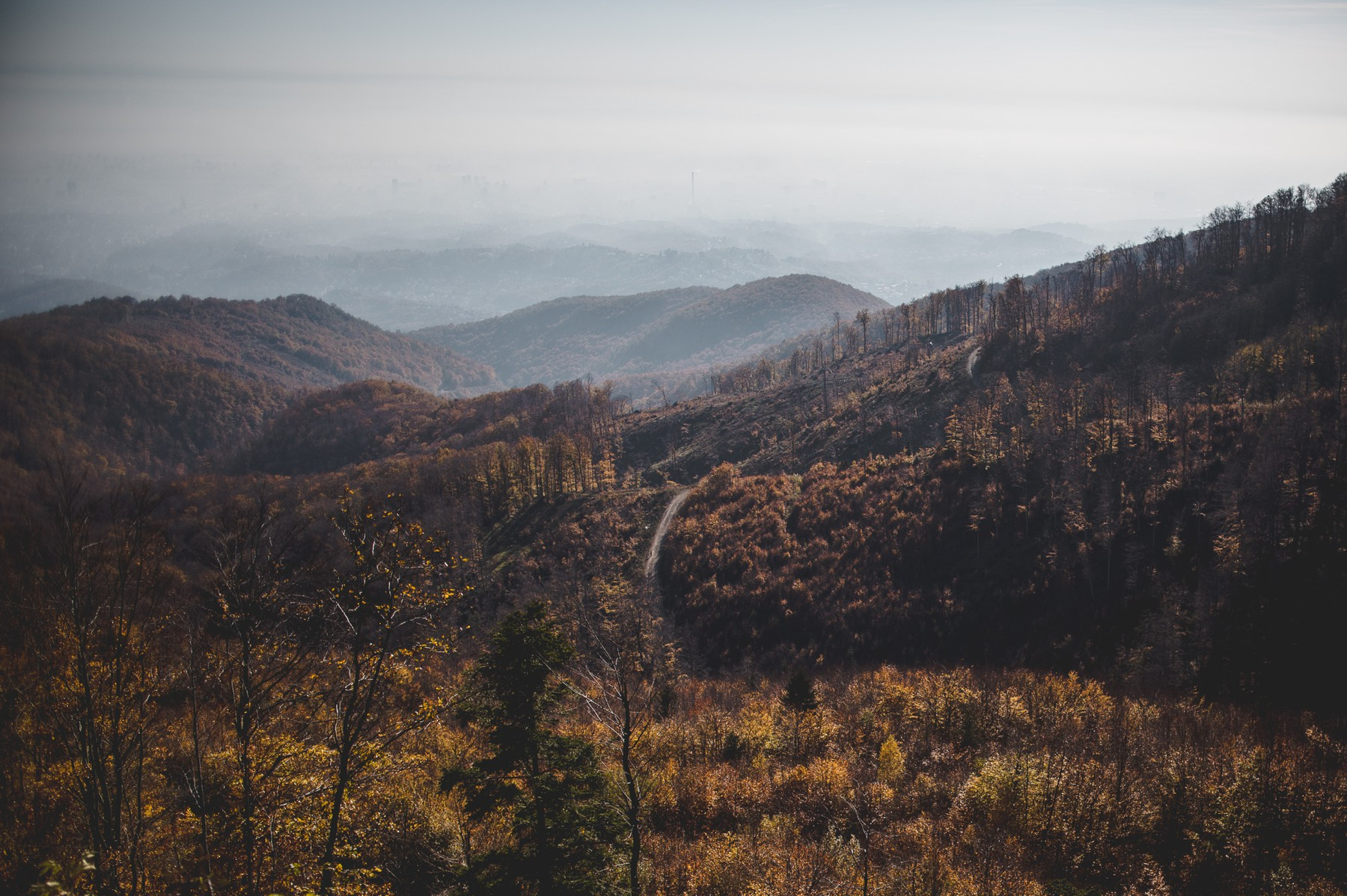 Sljeme mountain
