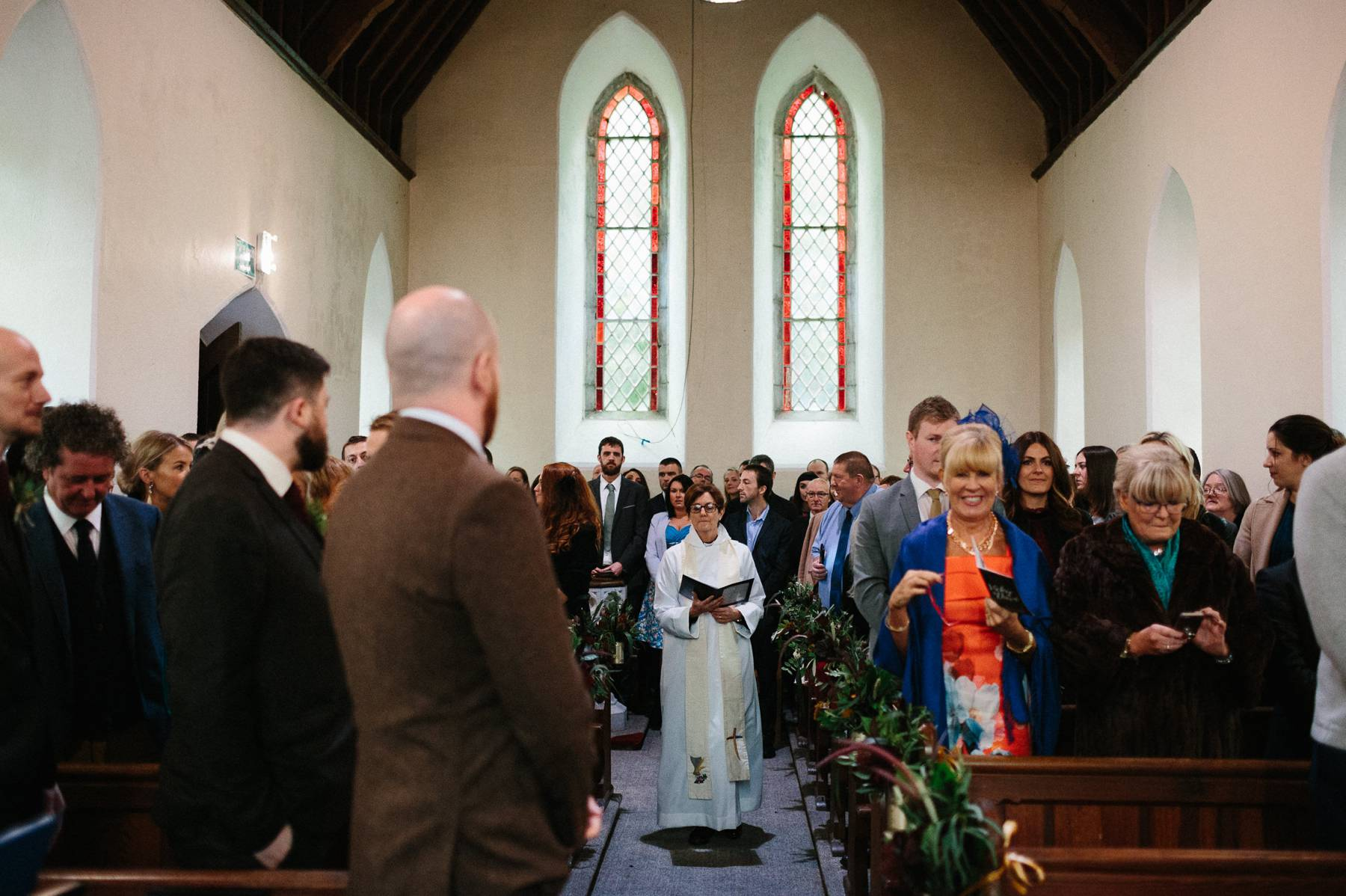 Church moment in Kinsale