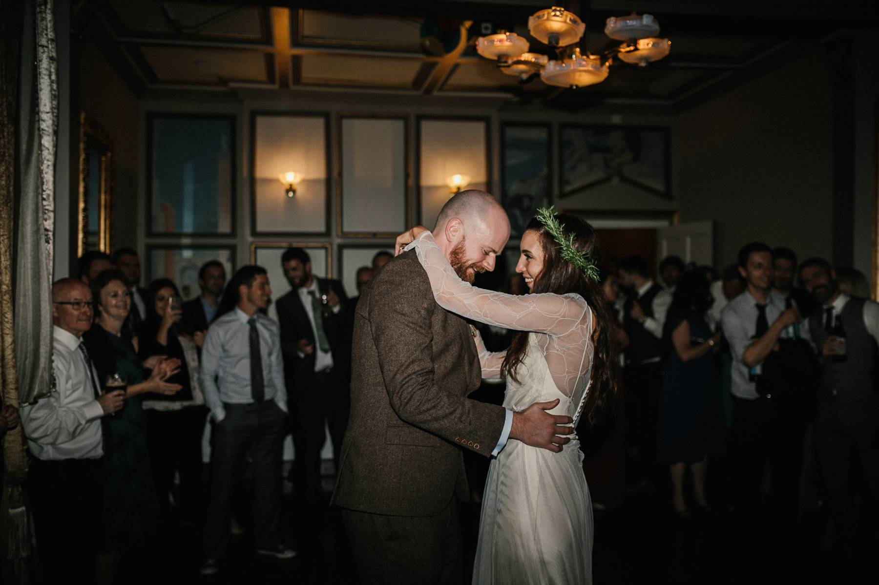 First dance at Ballinacurra house