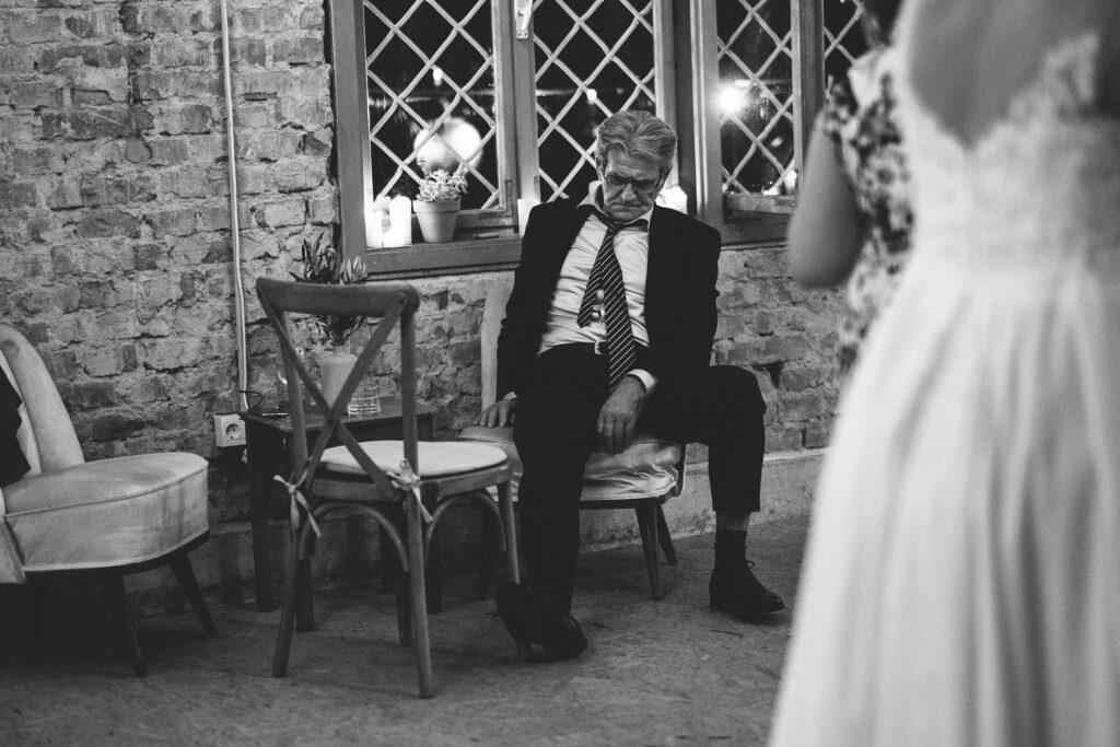 Sleeping on wedding